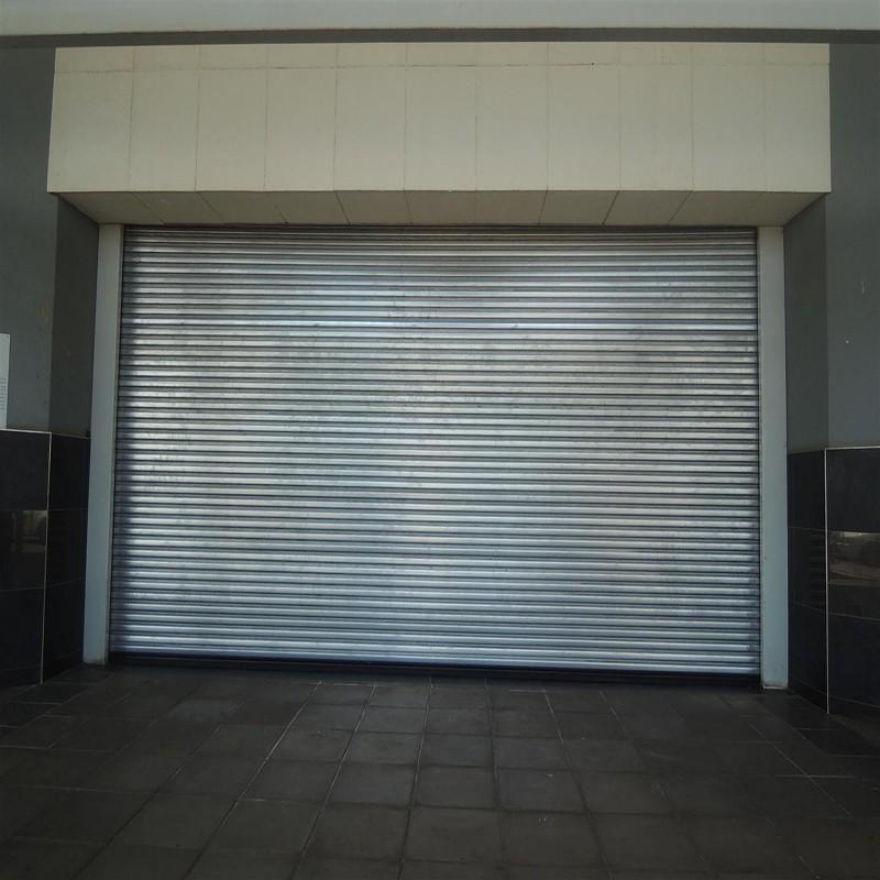 Zhongtai-Best Commercial Steel Doors Electric Security Stainless Steel Rolling Door