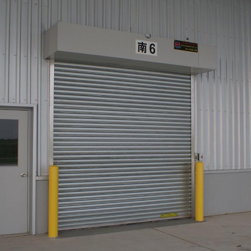 Electric Security Stainless Steel Rolling Door