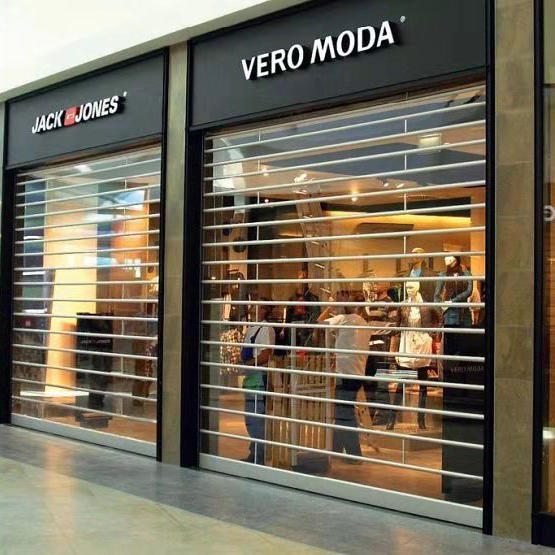 Clear Electric Polycarbonate Rolling Door