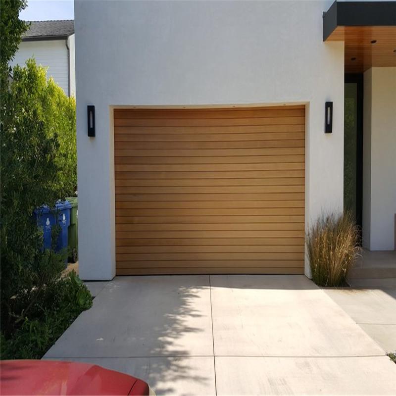 Zhongtai-Aluminum Garage Doors Automatic Opening Aluminum Garage Door