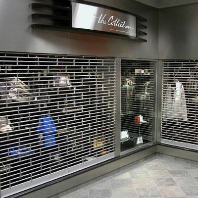 Electric Stainless Steel Grilles Rolling Door