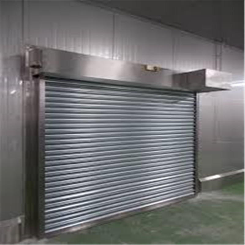 Custom Stainless Steel Shutter Door