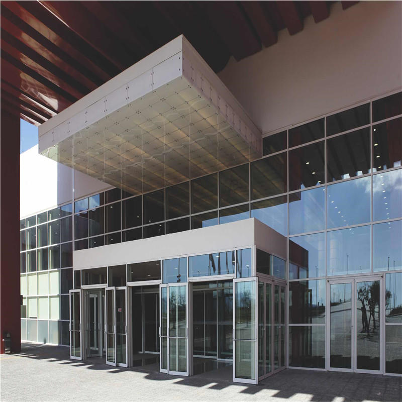 Transparent Glass Curtain Wall