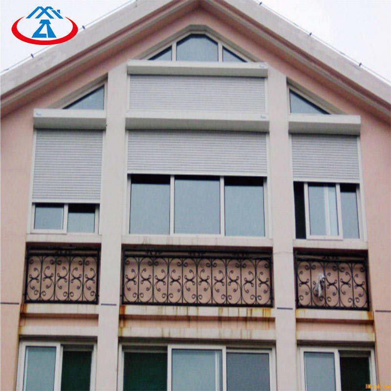 Electric Remote Control Thermal Insulation shutter door and window