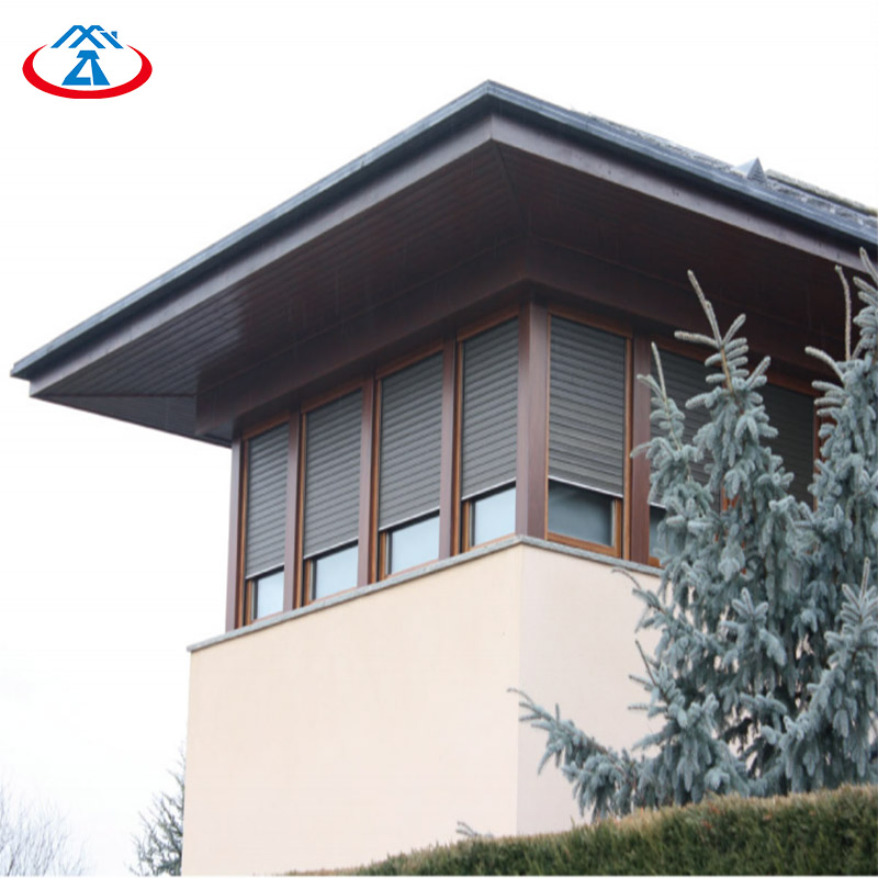 Zhongtai-High-quality Insulated Roll Up Garage Doors   Electric Remote Control Thermal-2
