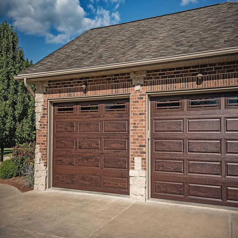 Zhongtai-Manufacturer Of Aluminum Garage Doors Wood Grain Aluminum Garage Door-3