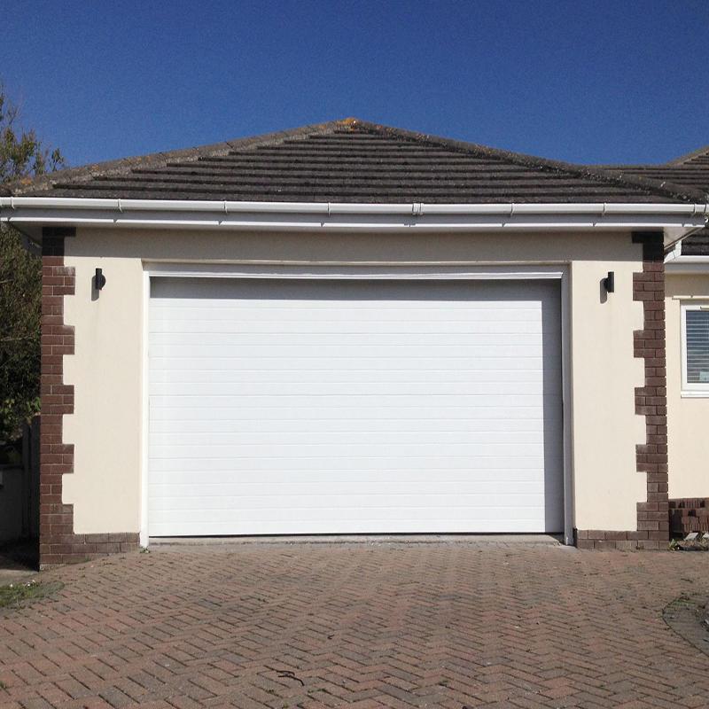 Electric Aluminum Panel Sectional Garage Door