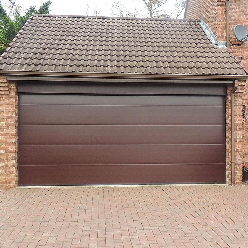 Zhongtai-Roll Up Garage Doors Thermal Insulation Overhead Sectional Garage Door-1