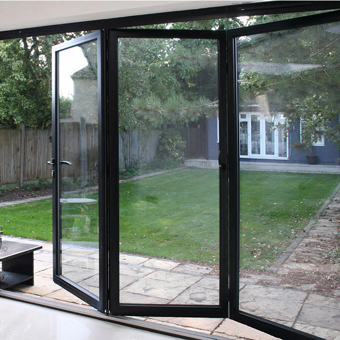 Horizontal Aluminum Folding Door