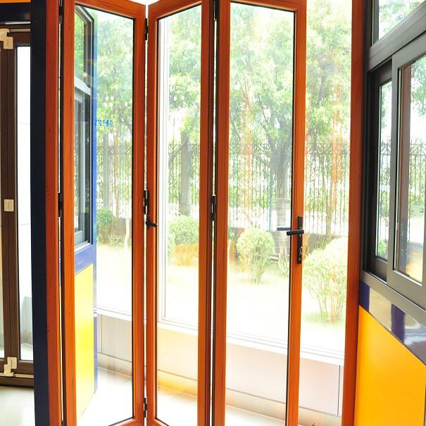 Zhongtai-Aluminium Door Frame Insulated Sound Insulation Aluminum Folding Door