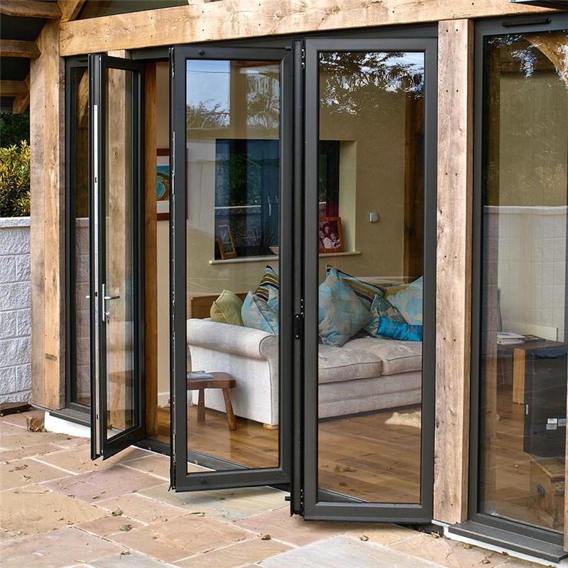 Simple&Elegant Aluminum Folding Door