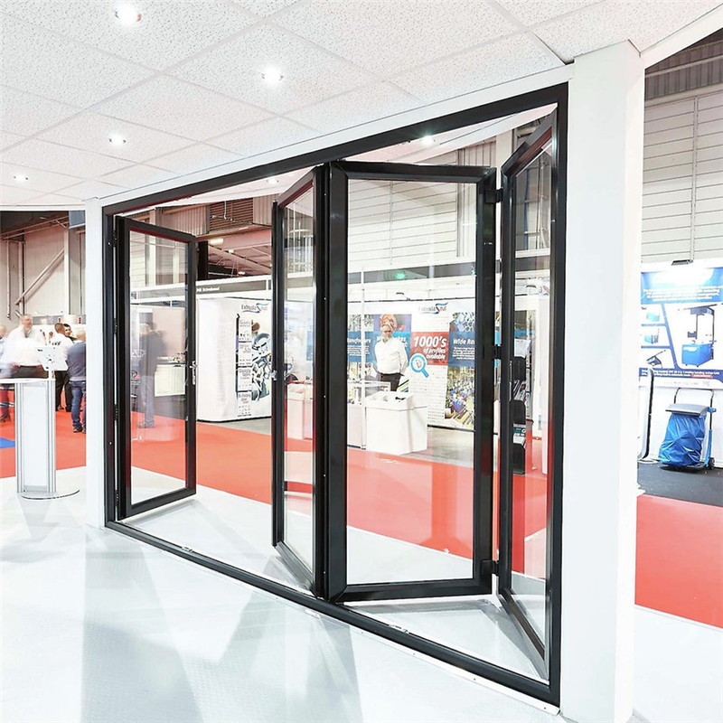 Zhongtai-Best Aluminium Door Frame Commercial Aluminum Folding Door Manufacture-1