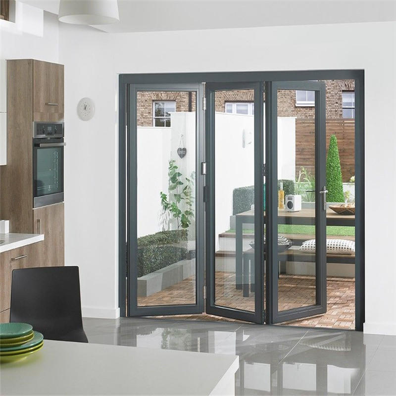 Finished Surface Aluminum Folding Door