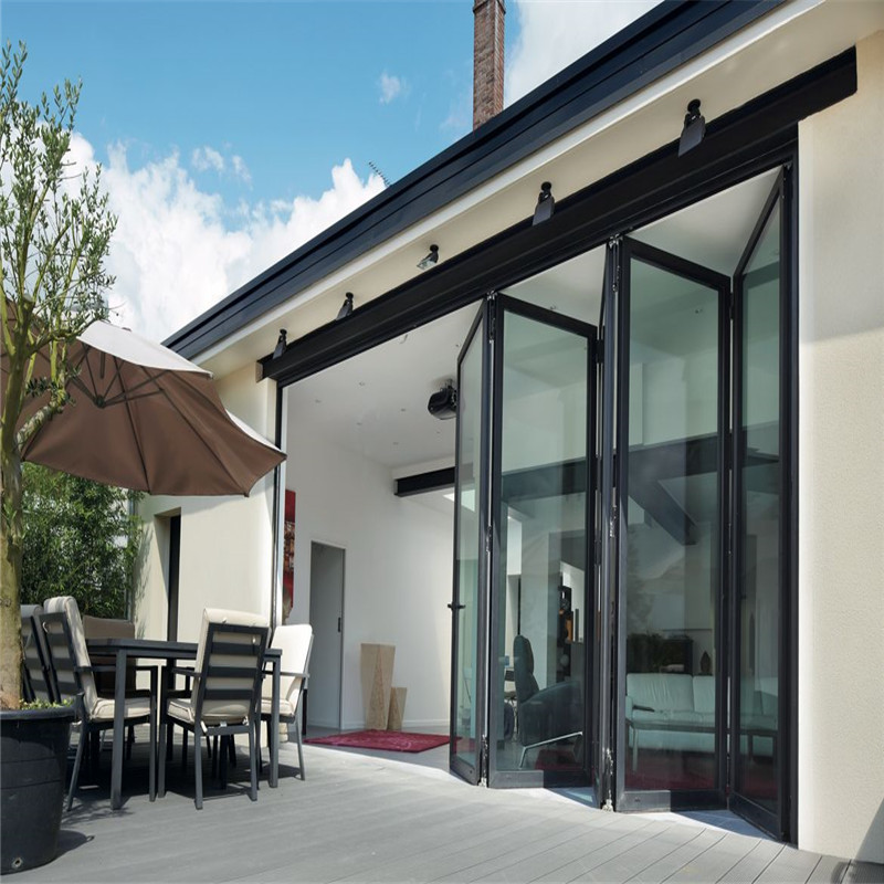 Zhongtai-Finished Surface Aluminum Folding Door | Aluminium Folding Door Company-1