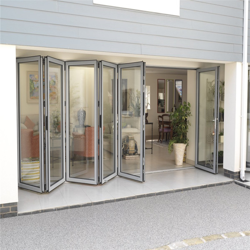 Zhongtai-Find Aluminium Door Frame House Aluminum Bi-folding Door | Manufacture