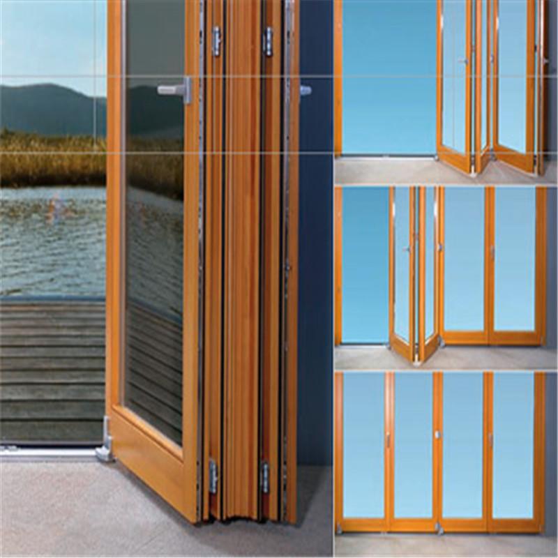Zhongtai-Aluminium Door Frame, Villa Aluminum Folding Door