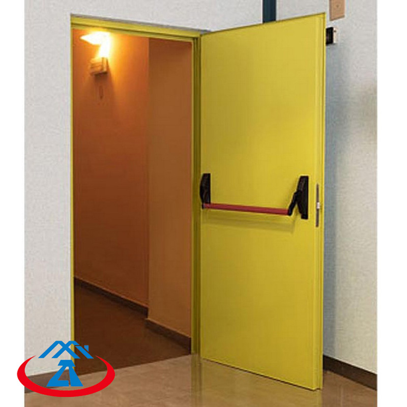 Zhongtai-Professional Fire Resistant Door 3 Hour Fire Rated Door Manufacture