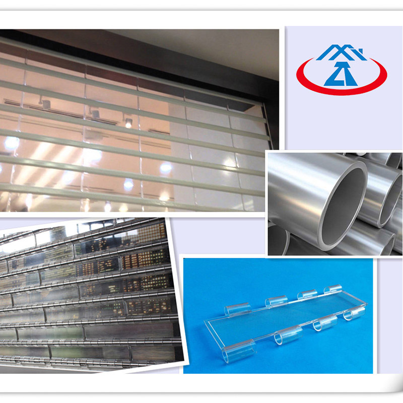 Zhongtai-Shop Shutter Prices | Clear Perspective Polycarbonate Rolling Shutter Door-2