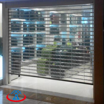 Fashion and Beautiful Polycarbonate Rolling shutter door