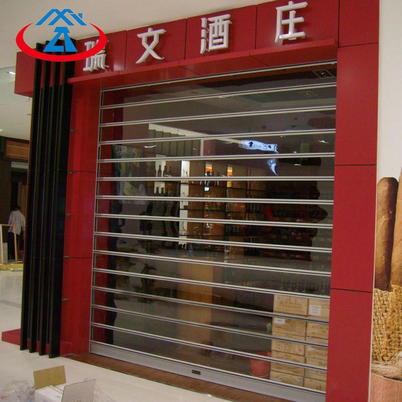 Commercial Polycarbonate Rolling Shutter Door