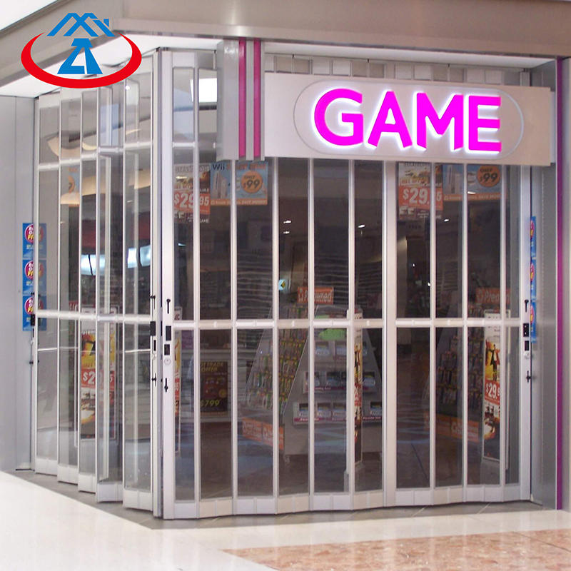 Commercial Polycarbonate Folding Door For Shop