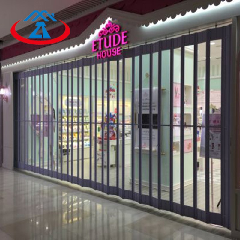 Zhongtai-Commercial Polycarbonate Folding Door For Shop | Shop Shutter Factory-1