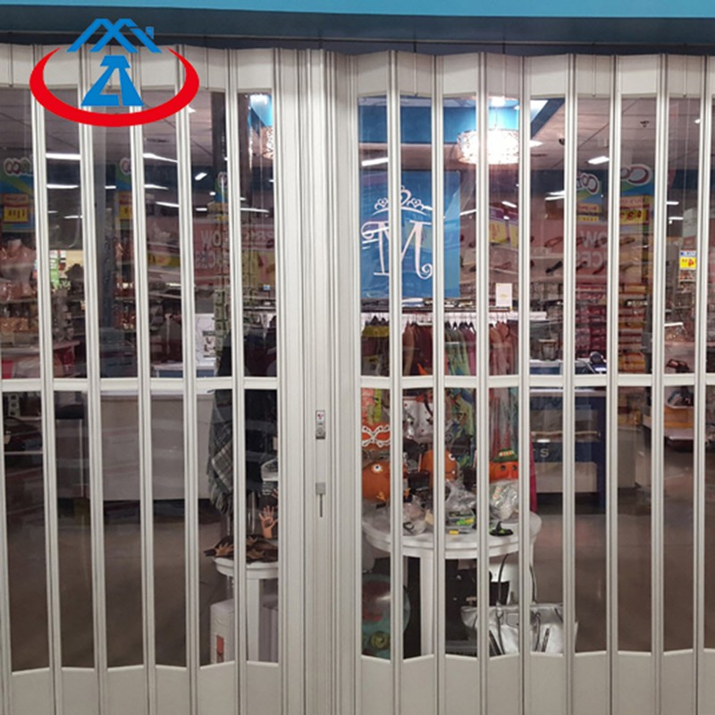 Zhongtai-Commercial Polycarbonate Folding Door For Shop | Shop Shutter Factory-2