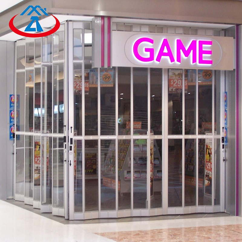 Zhongtai-Commercial Polycarbonate Folding Door For Shop | Shop Shutter Factory
