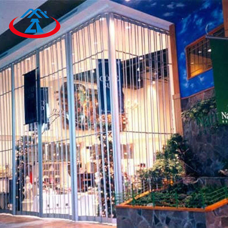 Fashionable and Beautiful Polycarbonate Folding Door For Mall