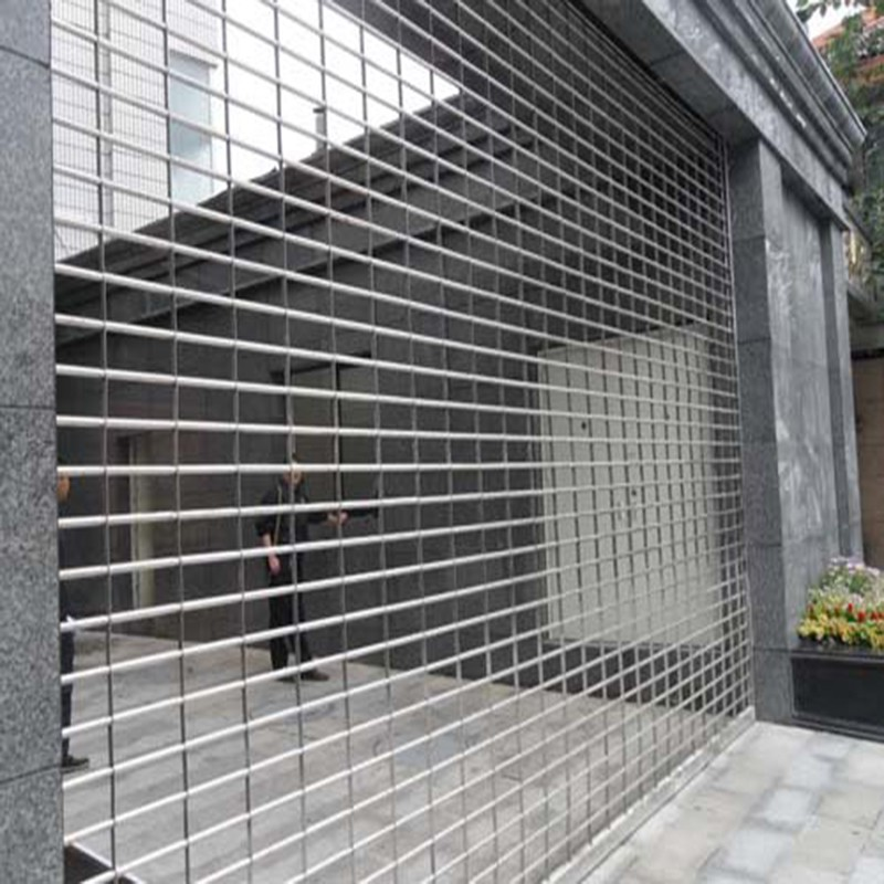 Zhongtai-Stainless Steel Grilles Rolling Shutter Door | Security Grilles Factory-1