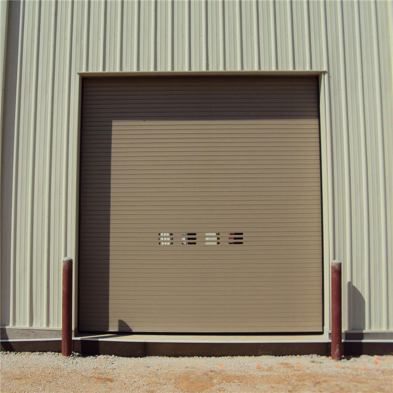 Finished Surface Aluminum Roll Up Door