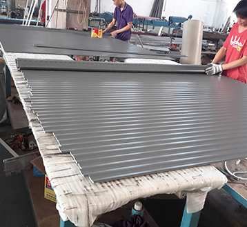 Zhongtai-Aluminium Shutters Finished Surface Aluminum Roll Up Door-4