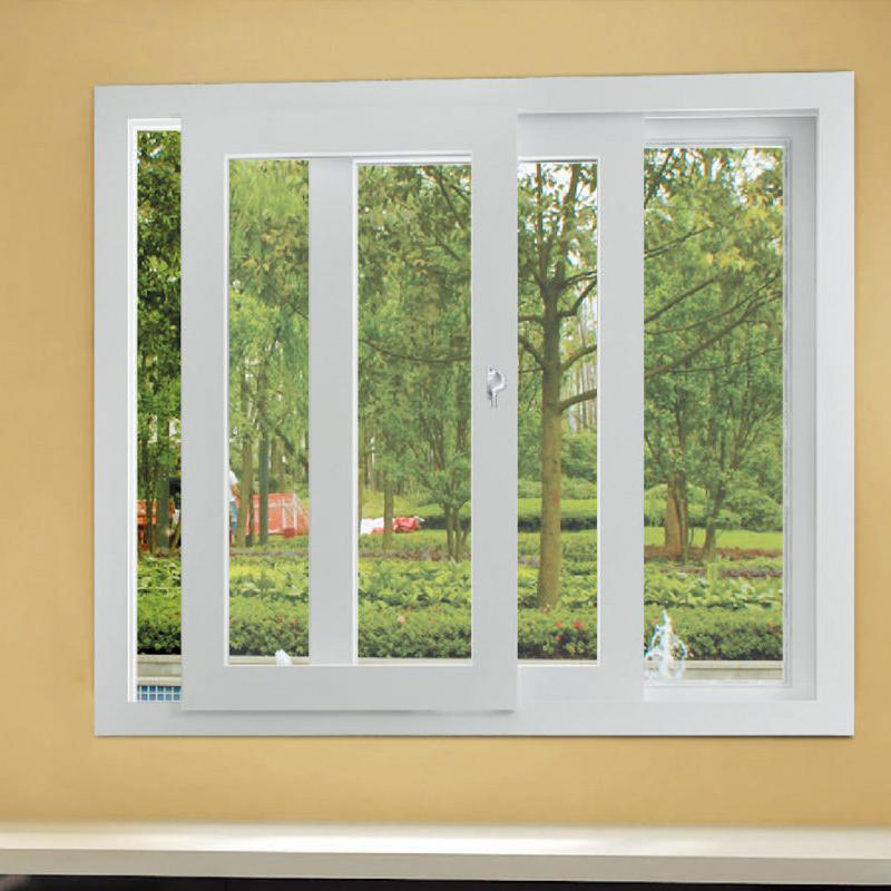 Double Tempered Glass Horizontal Aluminum Sliding Window