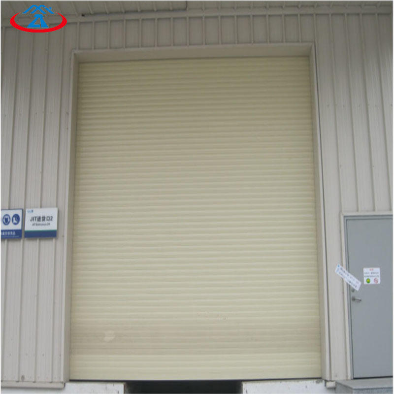 High quality TyPhoon Resistance Rolling Shutter Door
