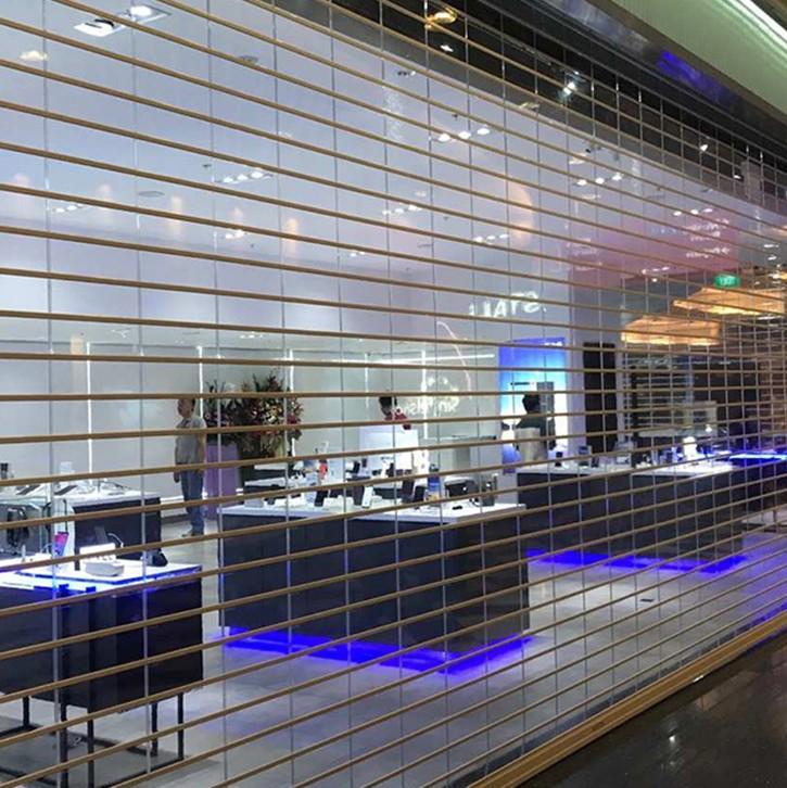 Zhongtai-Manufacturer Of Shop Roller Doors Vertical Good Vision Polycarbonate Rolling