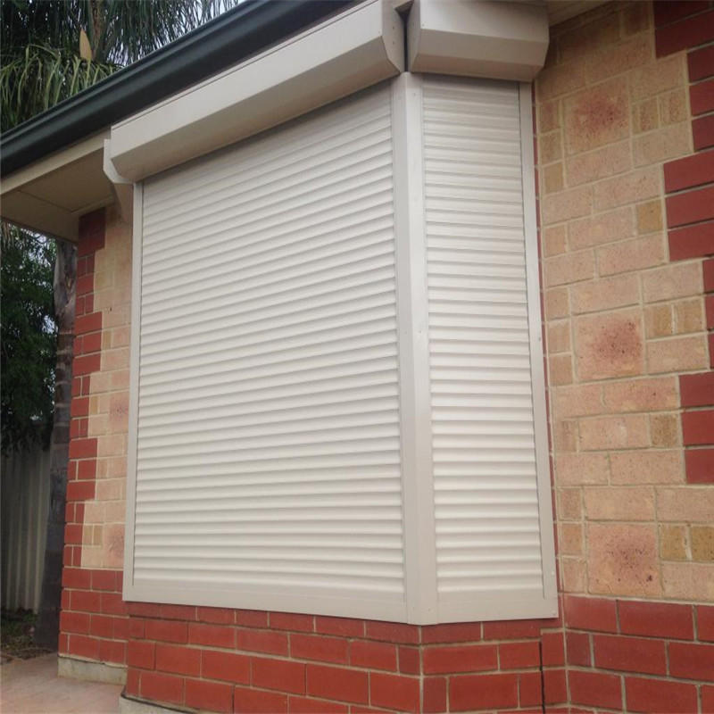 Grey Aluminum Thermal Insulation Roller Shutter