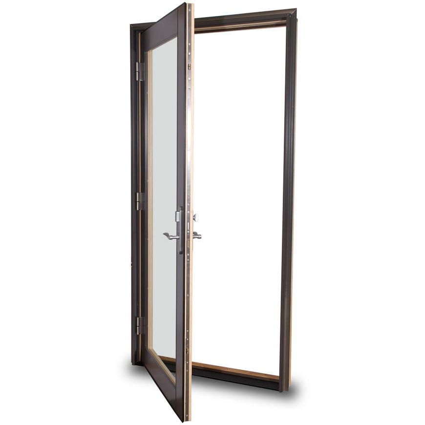 High Performance Sound Insulation Aluminum Swing Door