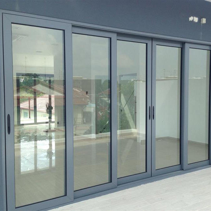 Thermal Insulation Sound Insulation Aluminum Sliding Door