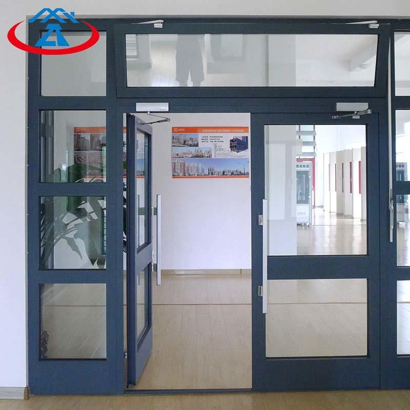 Customized Aluminum Swinging Glass Door