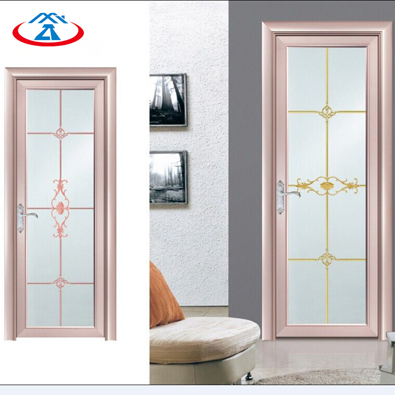 Zhongtai-Aluminium French Doors, Customized Aluminum Swinging Glass Door