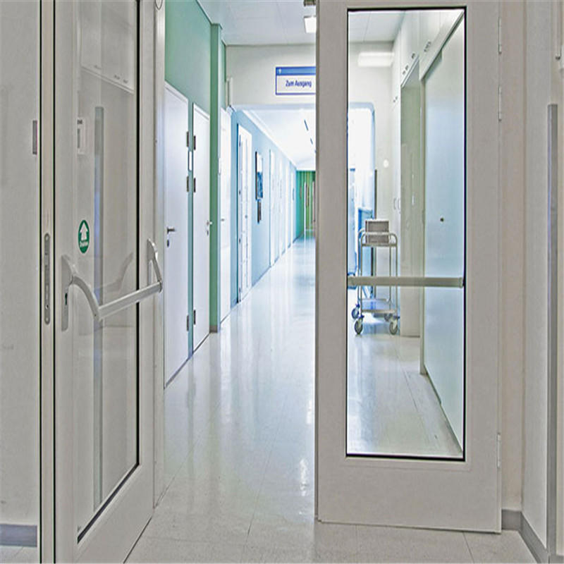 Two Panel Aluminium Swing Door
