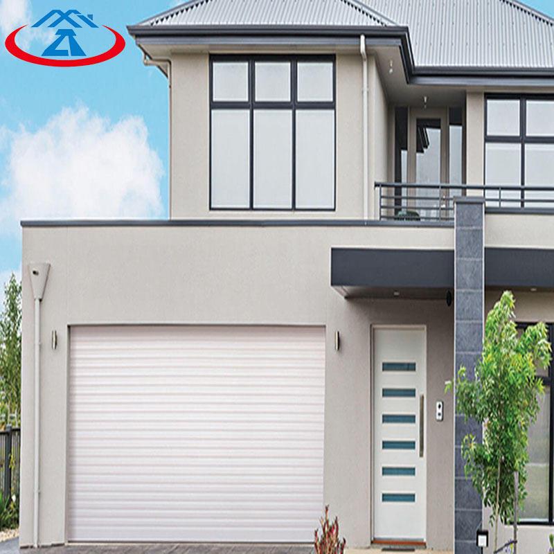 Modern Style Withe Overhead Garage Door