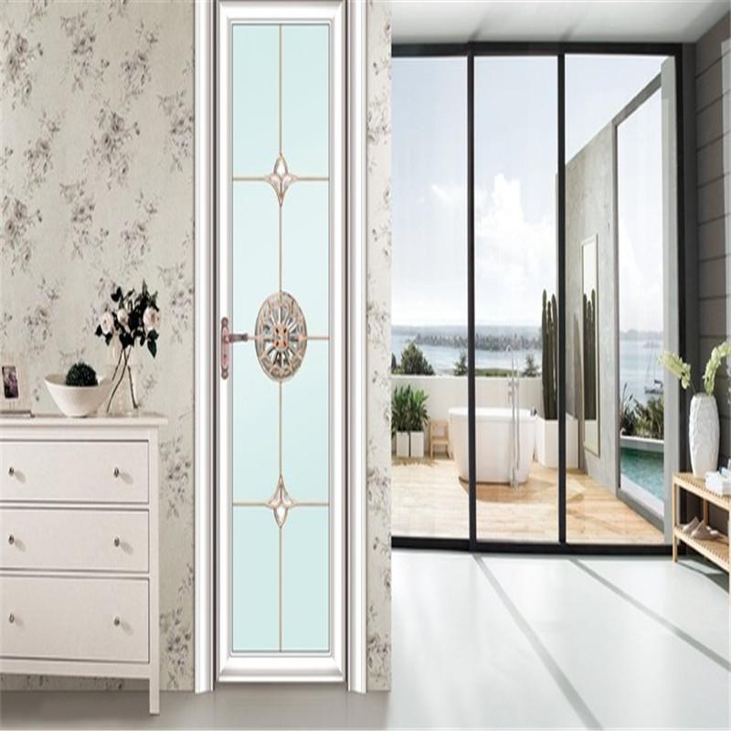 Zhongtai-Aluminium French Doors, Simple Style Aluminum Swing Door