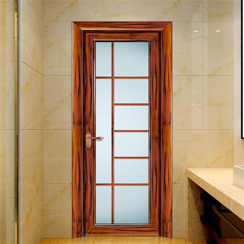 Wood Grain Interior Swing Door