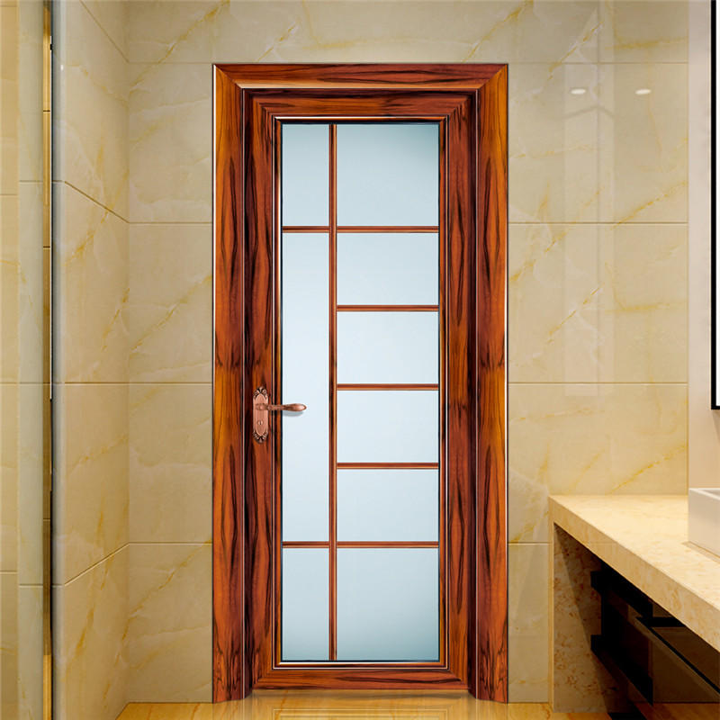 Wood Grain Interior Swing Door