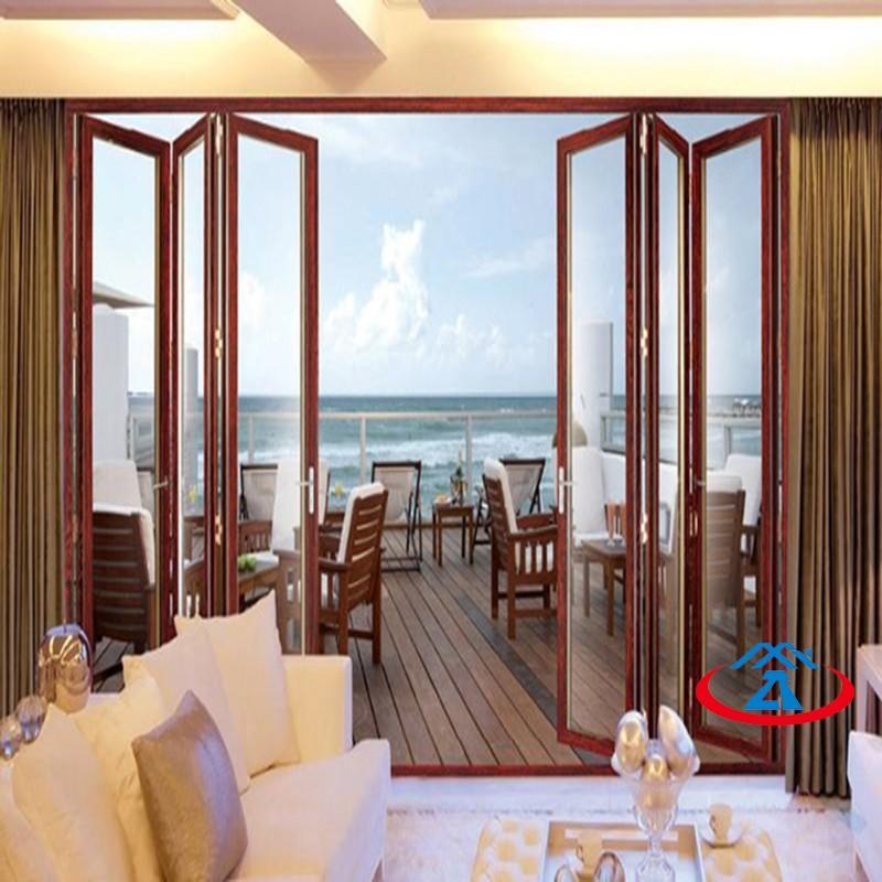Zhongtai-New Design Aluminum Folding Door For House | Aluminium Door Frame Factory-1