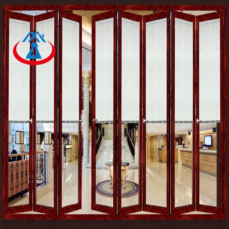 Zhongtai-New Design Aluminum Folding Door For House | Aluminium Door Frame Factory-2