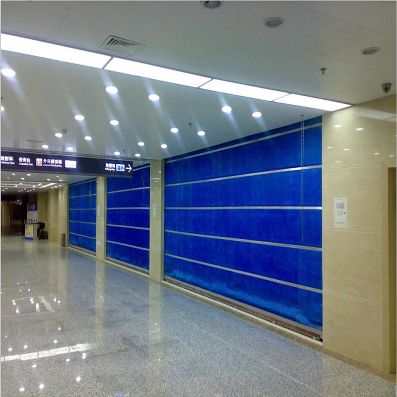 Excellent Quality Inorganic Fabric Fireproof Rolling Shutter