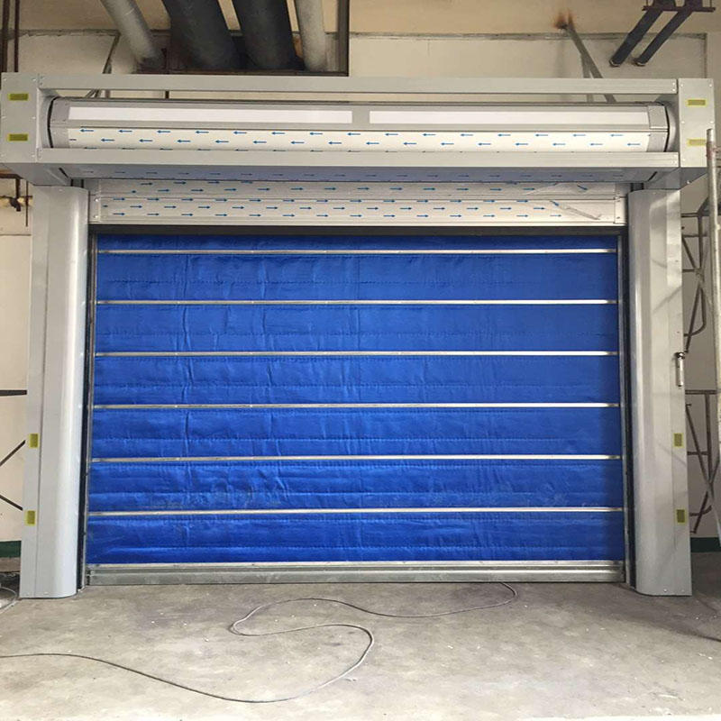 Inorganic Fireproof Rolling Shutter for Shopping Mall