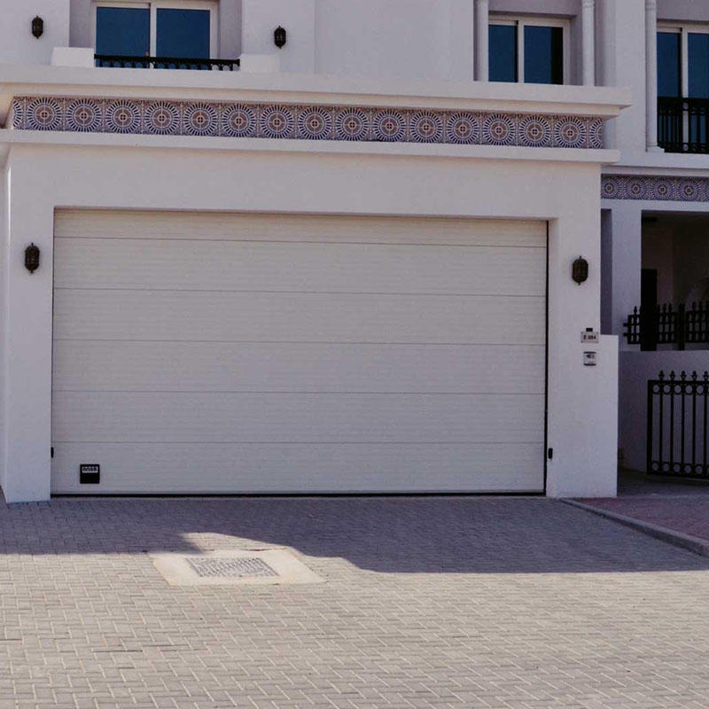 Electric Sound Insulation Steel Garage Door